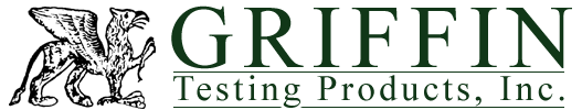 Logo, Griffin Testing Products, Inc. - Testing Supplies